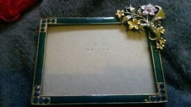Vintage style Single Standing photo frame