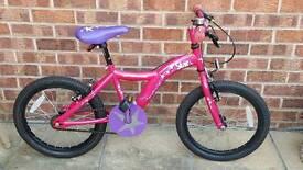 "Girls 18"" Apollo Star Bike"