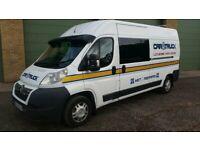 2012 Citroen Relay Crew Cab Recovery Van with CRT Trailer