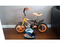 Child Bicycle up to 4 years old & helmet