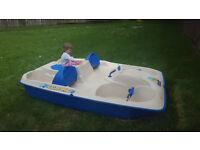 pedal boat - sundolphin slider 5 person