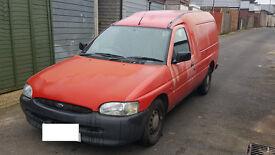 Ford Escort Van 55 1.8D, W 2000 reg, Mileage -108K, Needs welding, Good runner