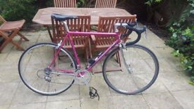 Eddy Merckx Classic 90s Racing Bike Limited Edition in Pink