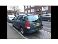 Peugeot 307, diesel 1,5, new mot and tax ready , good condition