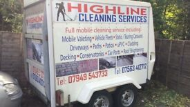 Commercial mobile valeting