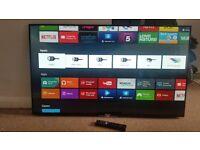 Sony KD49X8305C 49 Inch 4K Ultra HD Freeview HD WiFi LED Smart TV - Black.
