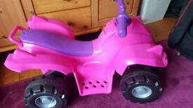 Child's battery operated car