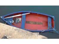 14ft boat for sale including trailer and 2 x 5hp outboards