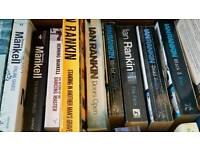 Ian Rankin and Henning Mankell books
