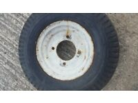x 2 trailer wheels 8 inch