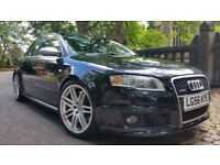 2006 Audi RS4 V8 QUATTRO SALOON 102000 MILES FULL SERVICE HISTORY WINGBACK SEATS STUNNING CONDITION