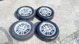 "Ford focus alloy wheels 15"""