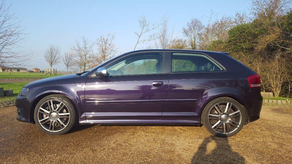 Audi S3 Tfsi Quattro Merlin Purple In Milton Keynes