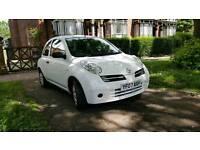 Nissan Micra ( Nitia) white 1.2 petrol Full year MOT only 29k from new 2007 model