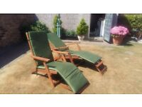 Wooden Recliner Chairs ( Steamer)