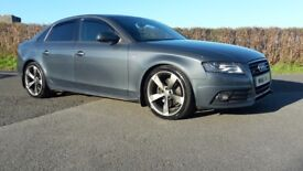 Audi A4 sline quattro black edition