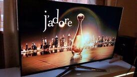 "SAMSUNG UE55J6240AK Smart Ultra HD 50""LED TV... Great condition"