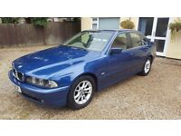 BMW 525d SE (BMW 5 series 2.5 diesel, manual, Full MOT, FSH)