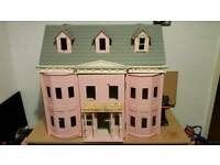 large Victorian dolls house