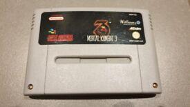 Super Nintendo Mortal Kombat 3