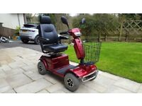 Mobility Scooter - Warranty, V5 road legal, new batteries, punture proof tyres, very good condition
