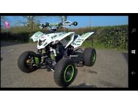 Subaru 500cc quadbike, DRY BIKE-NEVER TAKEN OFF RD. ££££`s spent, must be seen, As new, faultless