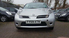 2009 59 NISSAN MICRA AUTOMATIC 5 DOOR - LOW MILES