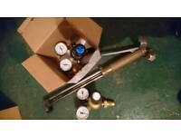 Gas cutting kit