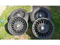 BBS rims 4 studs off a Volkswagen polo