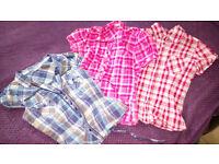 LADIES CLOTHES BUNDLE OF 3 SHIRTS SIZE 12