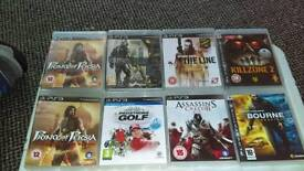 PS3 Games Various Priced