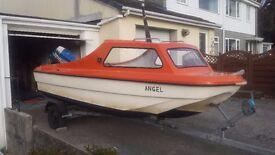 CJR 14 Dory boat