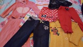 Bundle of girls clothes 2-3years