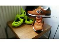 Best price nike free sendal and new balance