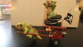 Pocket dragons go go get away cart