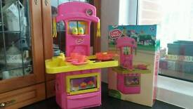 brand new, chad valley mini electronic play kitchen toy