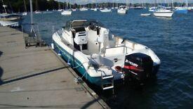 Power Boat Cap Camarat 615WA 115HP Mercury