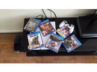 WHITE PS4 500GB BUNDLE SWAP FOR IPHONE 6S OR SAMSUNG S7
