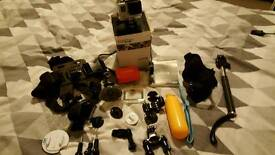 Gopro hero 3 white with accessories