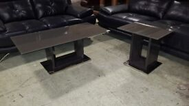 Modern style coffee and lamp table (ex display) RRP £400+