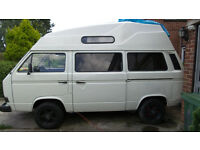 VW T25 CAMPERVAN 2.0L AIRCOOLED WITH ENGINE REBUILD