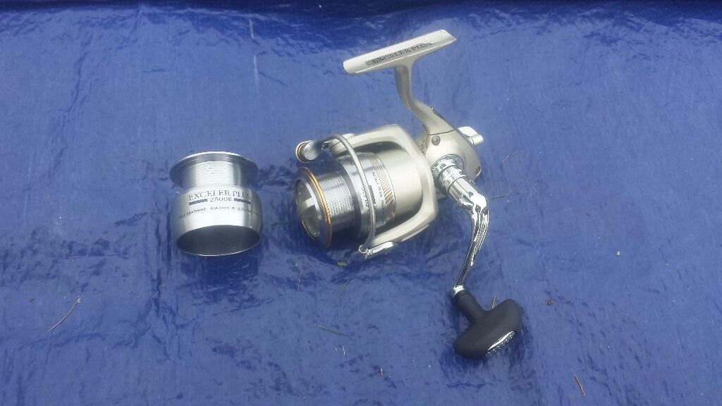 DAIWA FISHING REEL EXCELER PLUS 2500E MATCH REEL EXP2500E