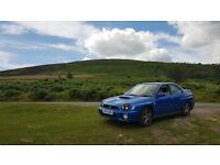 Subaru Impreza WRX standard car other than prodrive performance pack(ppp)