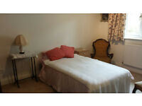 Bedroom, Bathroom, Sitting Room, use of kitchen, parking space and garden available in Linton.