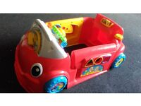Talking toy car and zilaphone crockadile