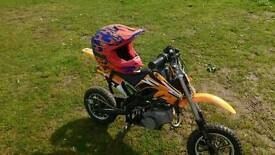 Kids 50cc fun bike