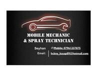 Mobile Mechanic & Spray Technician