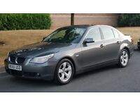 BMW 520D 55 REG GREY LADY OWNED FULL SERVICE HISTORY LONG MOT DRIVES PERFECT VERY SMOOTH MAY PART EX
