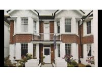 Two bedroom maisonette with front & rear garden. Located in Langdale Gdns, Hove, near the seafront.
