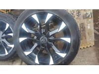 4 x wolfrace asassin wheels and tyres came off Corsa 15 inch
